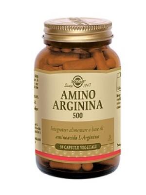 AMINO ARGININA 500 50 CAPSULE VEGETALI