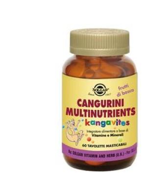 CANGURINI MULTINUTRIENTS FRUTTI BOSCO 60 COMPRESSE
