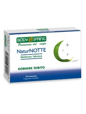 BODY SPRING NATUR NOTTE 30 COMPRESSE
