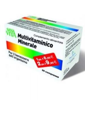 SANAVITA MULTIVITAMINICO MINERALE 30 COMPRESSE
