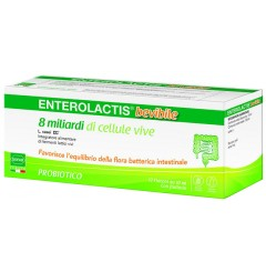 ENTEROLACTIS 12 FLACONCINI 10 ML