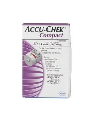ACCU-CHEK COMPACT STR 50+1PZ
