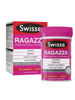SWISSE MULTIVIT RAGAZZA 60 COMPRESSE