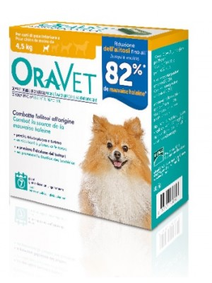 ORAVET CHEWING-GUM DOG EXTRA SMALL 7 PEZZI