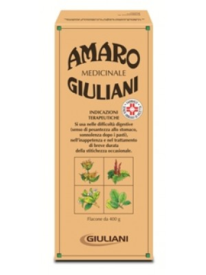 AMARO MEDICINALE GIULIANI*orale soluz 1 flacone 400 g