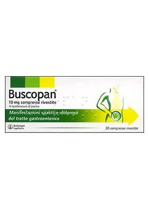 BUSCOPAN*30 cpr riv 10 mg