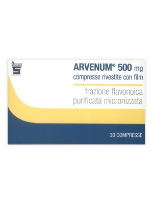 ARVENUM 500*30 cpr riv 500 mg