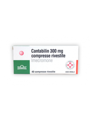 CANTABILIN*40 cpr riv 300 mg