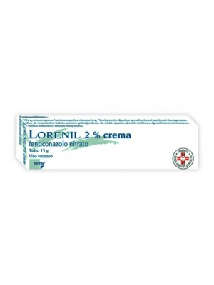 LORENIL*crema derm 15 g 2%