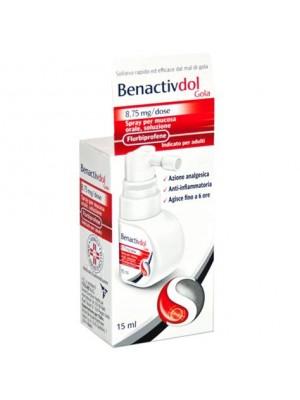 BENACTIVDOL GOLA*spray mucosa orale 15 ml 8,75 mg/dose