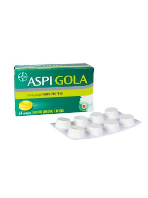 ASPI GOLA*24 pastiglie 8,75 mg limone miele